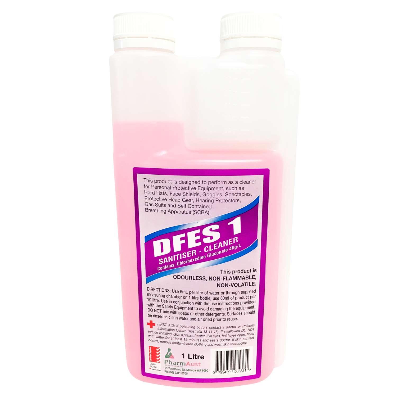 DFES 1 (SANITISER CLEANER) - PharmAust Manufacturing - Health